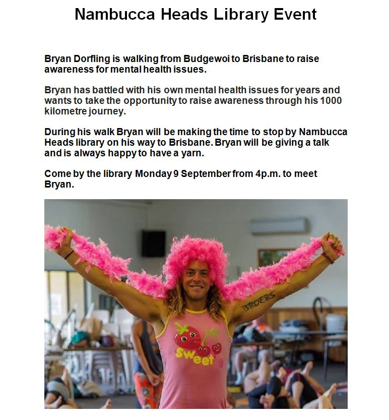 Nambucca Heads Library Event