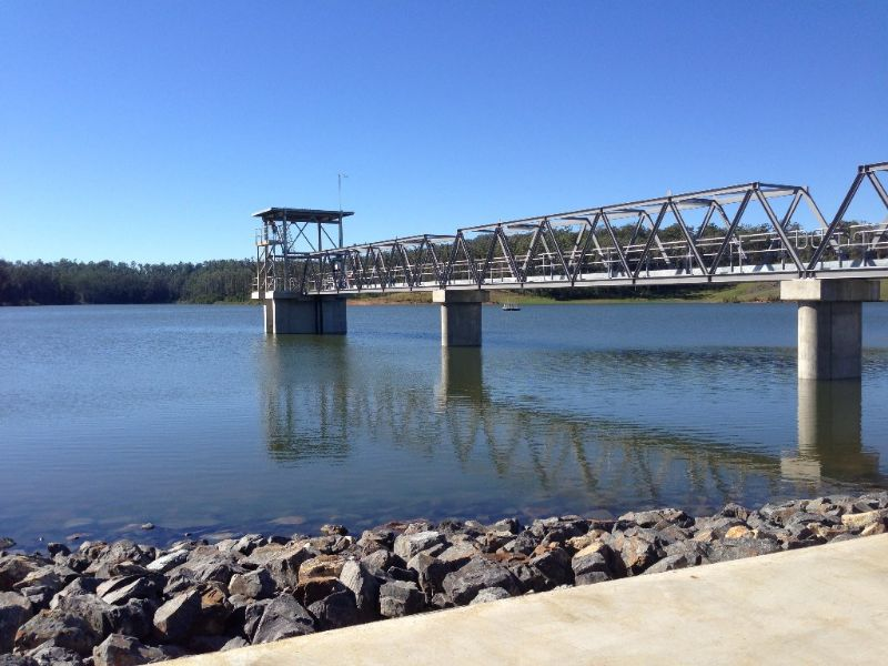 Changeover to Bowra Dam water