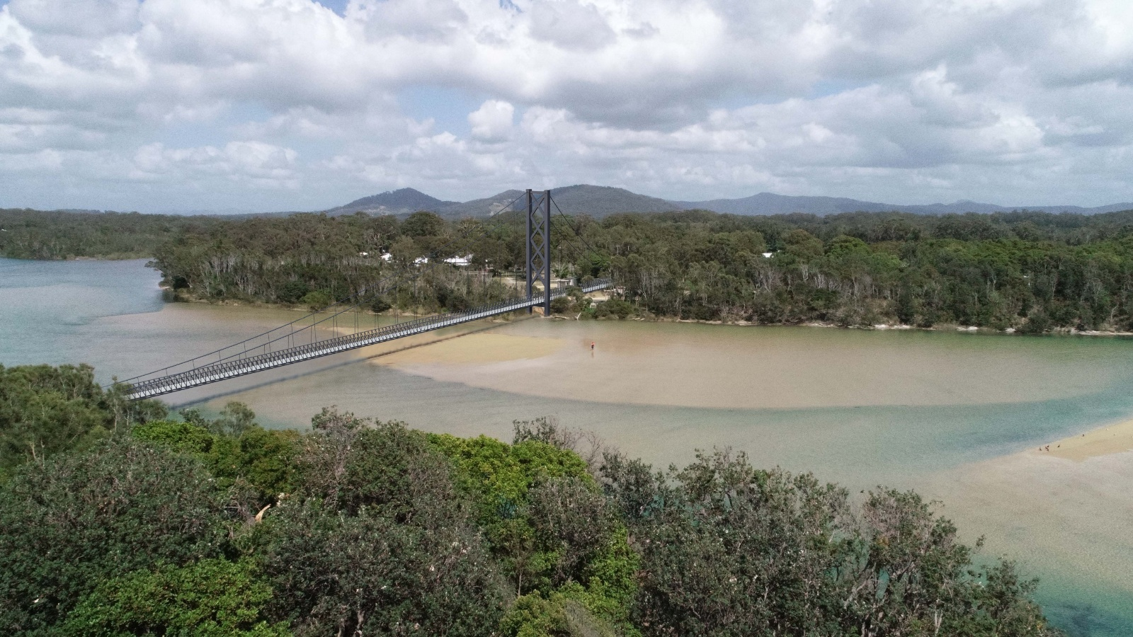 Valla Beach footbridge replacement concept plan