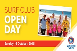 Surf Life Saving NSW Surf Club Open Day